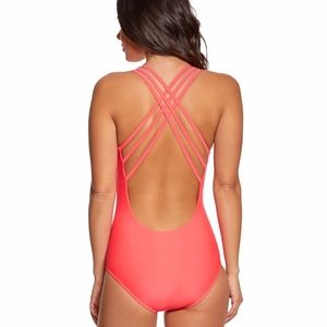 Body Glove Smoothies Crossroads One-Piece Coral